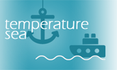 World sea water temperatures