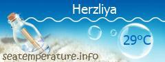 טמפרטורת המים בהרצליה