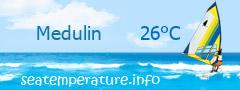 Temperatura apei in Medulin