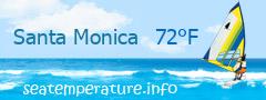 Sea water temperature